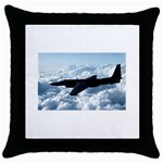 U-2 Dragon Lady Throw Pillow Case (Black)