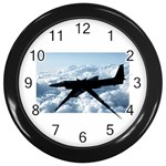 U-2 Dragon Lady Wall Clock (Black)