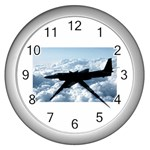 U-2 Dragon Lady Wall Clock (Silver)