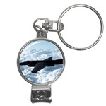 U-2 Dragon Lady Nail Clippers Key Chain