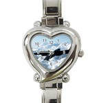 U-2 Dragon Lady Heart Italian Charm Watch