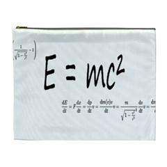 E=mc2 Formula Physics Relativity Cosmetic Bag (xl) by picsaspassion