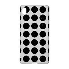 Circles1 Black Marble & White Linen Sony Xperia Z3+ by trendistuff