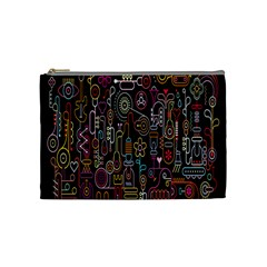 Features Illustration Cosmetic Bag (medium)  by Mariart