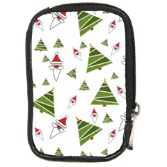 Christmas Santa Claus Decoration Compact Camera Cases by Celenk