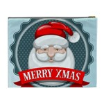 Christmas Santa Claus Xmas Cosmetic Bag (XL) Back