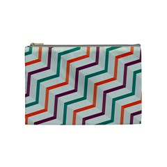 Line Color Rainbow Cosmetic Bag (medium)  by Alisyart