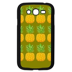 Fruite Pineapple Yellow Green Orange Samsung Galaxy Grand Duos I9082 Case (black) by Alisyart