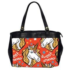 Unicorn Oversize Office Handbag (two Sides) by Wanni