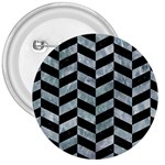 CHEVRON1 BLACK MARBLE & ICE CRYSTALS 3  Buttons