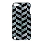 CHEVRON1 BLACK MARBLE & ICE CRYSTALS Apple iPod Touch 5 Hardshell Case