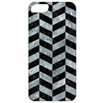 CHEVRON1 BLACK MARBLE & ICE CRYSTALS Apple iPhone 5 Classic Hardshell Case