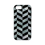 CHEVRON1 BLACK MARBLE & ICE CRYSTALS Apple iPhone 5 Classic Hardshell Case (PC+Silicone)