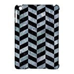 CHEVRON1 BLACK MARBLE & ICE CRYSTALS Apple iPad Mini Hardshell Case (Compatible with Smart Cover)