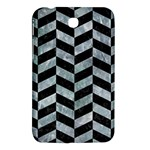 CHEVRON1 BLACK MARBLE & ICE CRYSTALS Samsung Galaxy Tab 3 (7 ) P3200 Hardshell Case