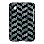 CHEVRON1 BLACK MARBLE & ICE CRYSTALS Samsung Galaxy Tab 2 (7 ) P3100 Hardshell Case