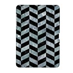 CHEVRON1 BLACK MARBLE & ICE CRYSTALS Samsung Galaxy Tab 2 (10.1 ) P5100 Hardshell Case