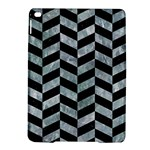 CHEVRON1 BLACK MARBLE & ICE CRYSTALS iPad Air 2 Hardshell Cases