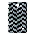 CHEVRON1 BLACK MARBLE & ICE CRYSTALS Samsung Galaxy Tab 4 (8 ) Hardshell Case