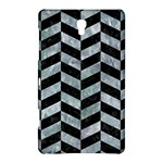 CHEVRON1 BLACK MARBLE & ICE CRYSTALS Samsung Galaxy Tab S (8.4 ) Hardshell Case
