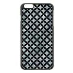 CIRCLES3 BLACK MARBLE & ICE CRYSTALS Apple iPhone 6 Plus/6S Plus Black Enamel Case