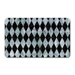 DIAMOND1 BLACK MARBLE & ICE CRYSTALS Magnet (Rectangular)