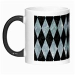 DIAMOND1 BLACK MARBLE & ICE CRYSTALS Morph Mugs