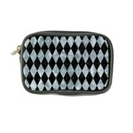 DIAMOND1 BLACK MARBLE & ICE CRYSTALS Coin Purse