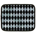 DIAMOND1 BLACK MARBLE & ICE CRYSTALS Netbook Case (XXL)