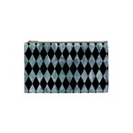 DIAMOND1 BLACK MARBLE & ICE CRYSTALS Cosmetic Bag (Small)