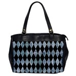 DIAMOND1 BLACK MARBLE & ICE CRYSTALS Office Handbags