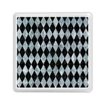 DIAMOND1 BLACK MARBLE & ICE CRYSTALS Memory Card Reader (Square)