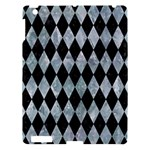DIAMOND1 BLACK MARBLE & ICE CRYSTALS Apple iPad 3/4 Hardshell Case