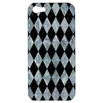 DIAMOND1 BLACK MARBLE & ICE CRYSTALS Apple iPhone 5 Hardshell Case
