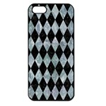DIAMOND1 BLACK MARBLE & ICE CRYSTALS Apple iPhone 5 Seamless Case (Black)