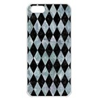 DIAMOND1 BLACK MARBLE & ICE CRYSTALS Apple iPhone 5 Seamless Case (White)