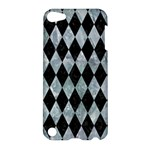 DIAMOND1 BLACK MARBLE & ICE CRYSTALS Apple iPod Touch 5 Hardshell Case