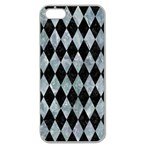 DIAMOND1 BLACK MARBLE & ICE CRYSTALS Apple Seamless iPhone 5 Case (Clear)