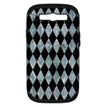 DIAMOND1 BLACK MARBLE & ICE CRYSTALS Samsung Galaxy S III Hardshell Case (PC+Silicone)