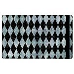DIAMOND1 BLACK MARBLE & ICE CRYSTALS Apple iPad 2 Flip Case