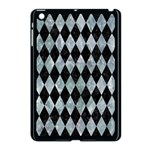 DIAMOND1 BLACK MARBLE & ICE CRYSTALS Apple iPad Mini Case (Black)