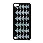 DIAMOND1 BLACK MARBLE & ICE CRYSTALS Apple iPod Touch 5 Case (Black)