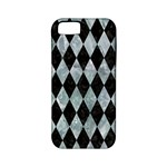 DIAMOND1 BLACK MARBLE & ICE CRYSTALS Apple iPhone 5 Classic Hardshell Case (PC+Silicone)
