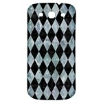DIAMOND1 BLACK MARBLE & ICE CRYSTALS Samsung Galaxy S3 S III Classic Hardshell Back Case