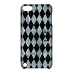 DIAMOND1 BLACK MARBLE & ICE CRYSTALS Apple iPod Touch 5 Hardshell Case with Stand