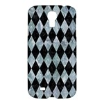 DIAMOND1 BLACK MARBLE & ICE CRYSTALS Samsung Galaxy S4 I9500/I9505 Hardshell Case