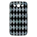 DIAMOND1 BLACK MARBLE & ICE CRYSTALS Samsung Galaxy Mega 5.8 I9152 Hardshell Case