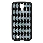 DIAMOND1 BLACK MARBLE & ICE CRYSTALS Samsung Galaxy S4 I9500/ I9505 Case (Black)