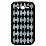 DIAMOND1 BLACK MARBLE & ICE CRYSTALS Samsung Galaxy Grand DUOS I9082 Case (Black)