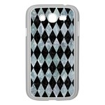 DIAMOND1 BLACK MARBLE & ICE CRYSTALS Samsung Galaxy Grand DUOS I9082 Case (White)